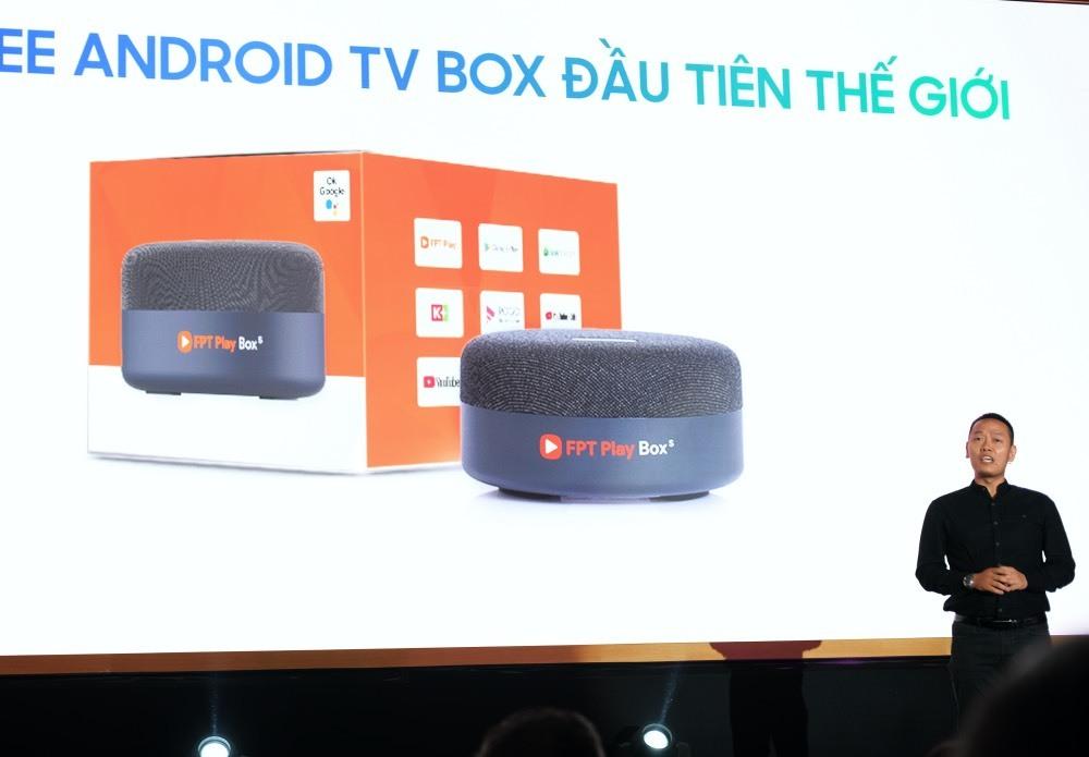 FPT Telecom ra mắt Android TV Box rảnh tay đầu tiên trên thế giới
