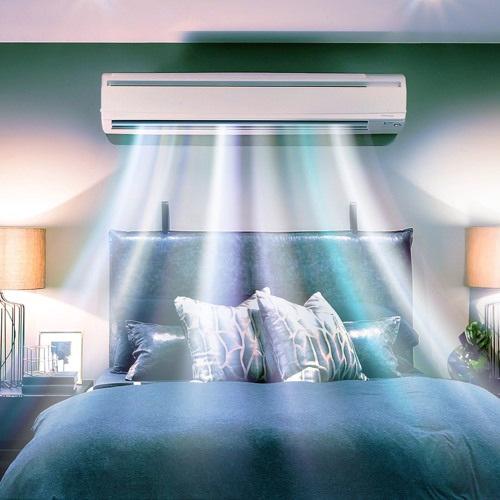 Lắp điều hòa trong phòng ngủ ở vị trí nào?